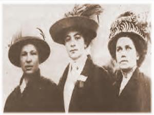3 Mujeres Anarquistas! Cultura + Info