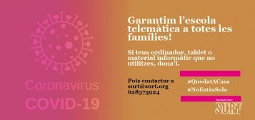 COVID-19: Campanya de recollida de material informàtic per a nens i nenes