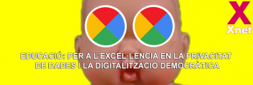 nen amb ulls dels colors de google