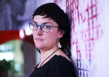 Foto de Pamela Palenciano (foto de CHRISTIAN GONZÁLEZ)