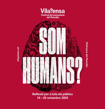 Cartell: cervell i la frase: Som humans?
