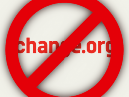 Prohibit Change.org